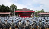 第14届香港青少年军事夏令营开营