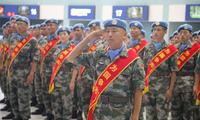 中国维和部队,今日出征