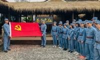 """追寻红色记忆 探访最""""香""""村庄 邂逅粉色花海"""