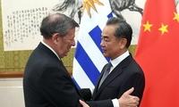 王毅同乌拉圭外长尼恩举行会谈