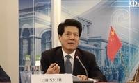 李辉大使出席俄中实业家理事会2018年工作总结会