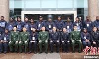 2017年巴布亚新几内亚要人警卫培训班在四川警察学院结业