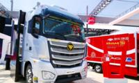 欧曼EST卡车2.0闪耀北京车展 福田戴姆勒三维合力助推智慧物流