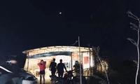实拍广东农庄饭店 生意太好凌晨2点打捞河鲜