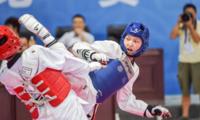 省运会跆拳道首日比赛 成都代表团收获三枚银牌