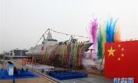 新型万吨驱逐舰代表我国舰艇建造领域最高水平