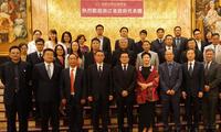 驻多伦多总领事韩涛出席浙江省政府代表团与加拿大浙商交流晚宴