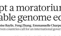 7国科学家呼吁:暂停所有人类生殖细胞系基因编辑临床应用