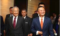 马哈蒂尔到访阿里巴巴:请与我们分享创新思想,让马来西亚也能获益于当代科技