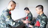 入伍季 | 武警某部交通第三支队迎来今年首批入伍新兵