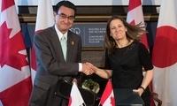 日本与加拿大签署提供军事技术设备协定