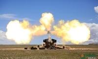 陆军第76集团军某炮兵旅雪域高原进行实弹射击训练