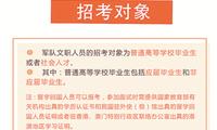 2019年全军面向社会公开招考文职人员公告