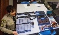 后怕!美国一高中生被老师要求摘耳机威胁报复 家中搜出大量枪支弹药