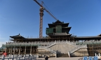 【高清】北京世园会园区建设基本成形
