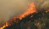 阿尔巴尼亚南部海滨城市发罗拉爆发山林大火
